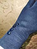 Перчатки льпака фланелев с сенсором для работы на телефоне плоншете/Сенсорны женские перчатки оптом, фото 4