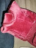 Перчатки льпака фланелев с сенсором для работы на телефоне плоншете/Сенсорны женские перчатки оптом, фото 6