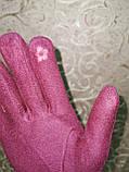 Перчатки льпака фланелев с сенсором для работы на телефоне плоншете/Сенсорны женские перчатки оптом, фото 7
