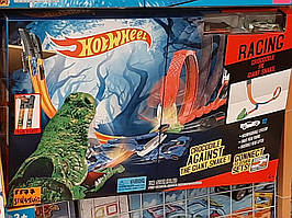 Гоночный трек Hot Wheel крокодил петля Хот Вилс