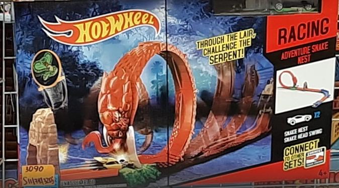 Гоночный трек Hot Wheel петля, хот вилс, 2 металлические машинки