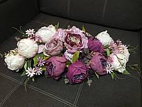 Свадебное украшение на стол
