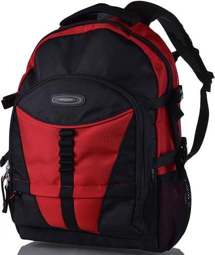 """Городской рюкзак c отделением для ноутбука 15,4"""" Onepolar (Ванполар) Артикул: W939-red красный"""