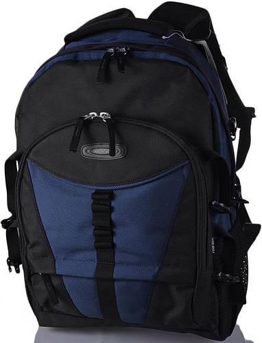 """Городской рюкзак c отделением для ноутбука 15,4"""" Onepolar (Ванполар) W939-navy синий"""