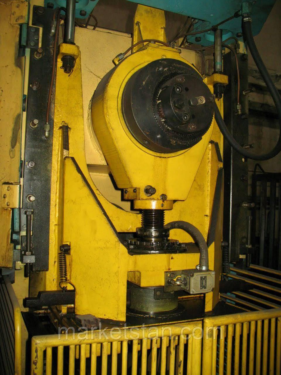 КИ2130 Пресс однокривошипный простого действия открытый, 2002 г.в.