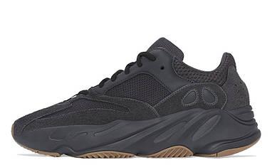 Женские кроссовки Adidas Yezzy 700 all Black