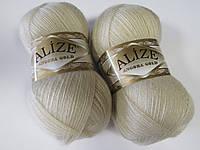 ANGORA GOLD 67 молочно-бежевый - 20% шерсть, 80% акрил