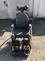 Удобная регулируемая многофункциональная инвалидная коляска для дома и улицы б.у. ширина сидения 43 см