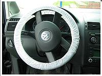 Защитные чехлы на руль резинкой для легковых автомобилей 250 шт. (Польша)