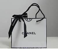 Подарочные бумажные брендовые пакеты  Шанель Chanel . Лучшая цена, фото 1