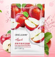 Маска для лица с экстрактом свежих яблок для лица (увлажняющая)