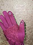 Сенсорны вязание шерсти трикотаж женские перчатки для работы на телефоне плоншете Anna-мода оптом, фото 5
