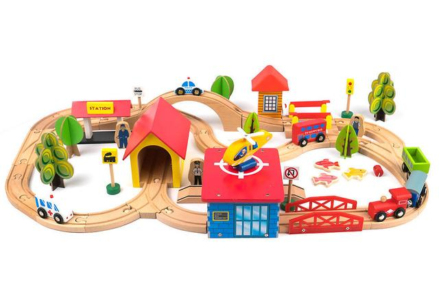 Автотреки, железные дороги, паркинги
