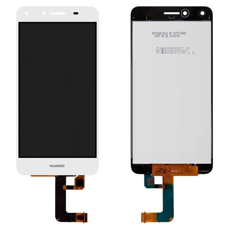 Дисплей и сенсор (модуль) на Huawei Y5 II белый
