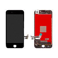 Дисплейный модуль (LCD + touch) iPhone 7 черный оригинал Китай
