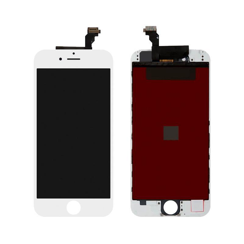 Дисплейный модуль (LCD + touch) iPhone 6 белый original (меняное стекло)