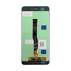 Дисплей и сенсор (модуль) на Huawei Nova черный