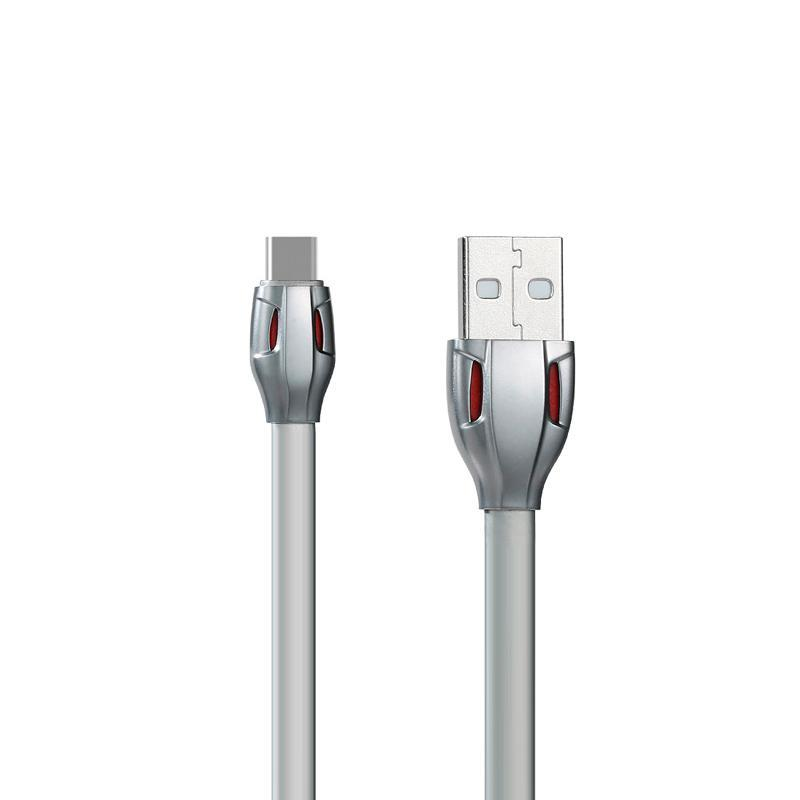 USB Cable Remax (OR) Laser RC-035a Type-C Grey 1m