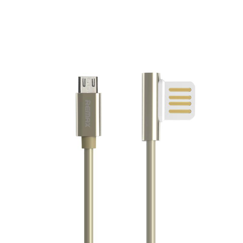 USB Cable Remax (OR) Emperor RC-054m MicroUSB Gold 1m