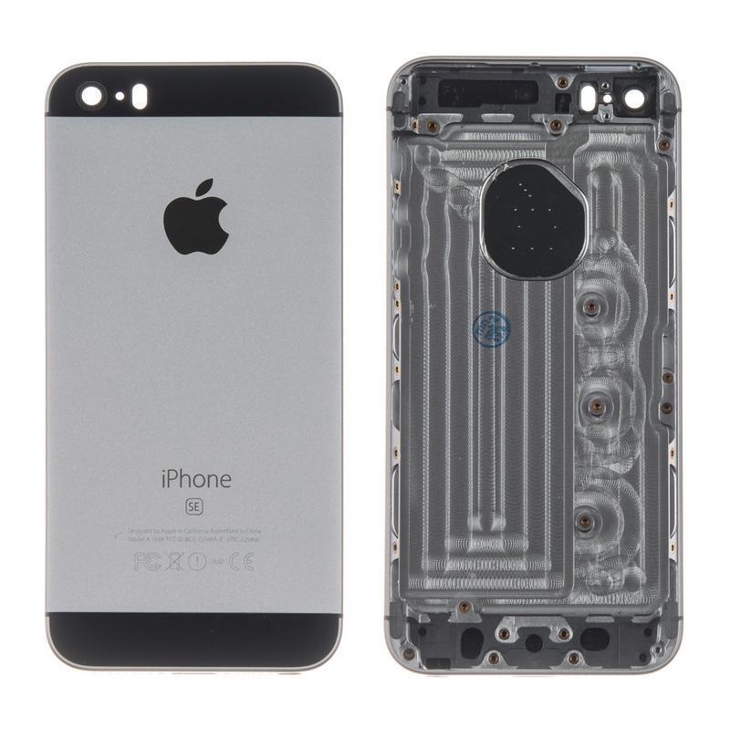 Корпус Full (крышка+рамка) iPhone SE Black HC