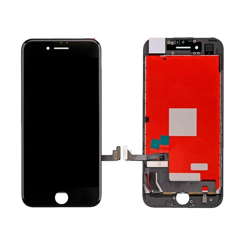 Дисплейный модуль (LCD + touch) iPhone 7 черный (копия высокого качества)