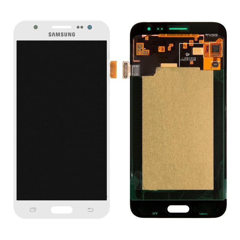 Дисплей и сенсор (модуль) на Samsung J500H, J5 белый