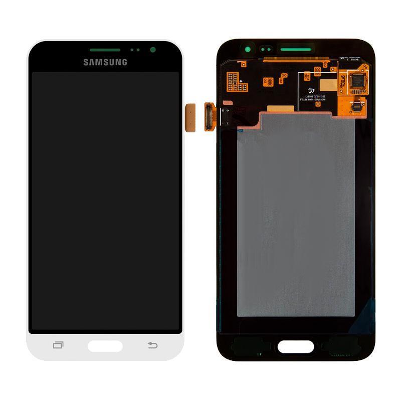 Дисплей і сенсор (модуль) на Samsung J320H, J3 - 2016 білий