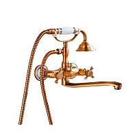 Смеситель для ванны Art Design 6133-12 Бронза