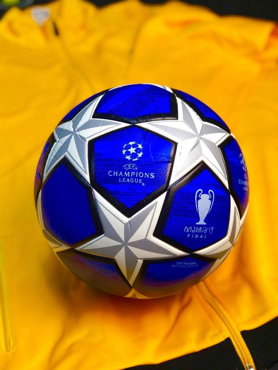 Мяч футбольный лиги чемпионов