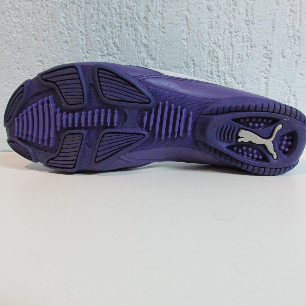 8e15f949d12e ... Балетки женские фиолетовые с белым Puma 303405-04 оригинал код 124А,  фото 3