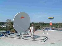 Строительство станций спутниковой связи