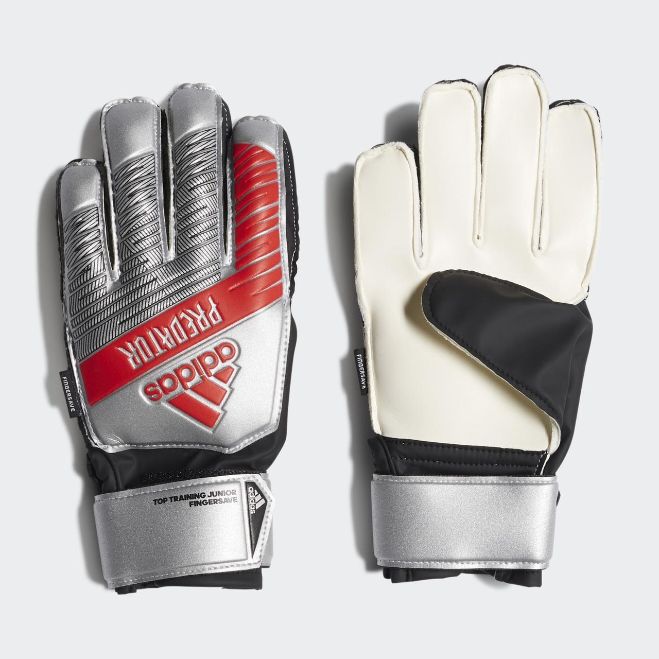 Детские вратарские перчатки Adidas Performance Predator Top Fingersave DY2602