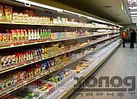 Витрина холодильная пристенная Медуза (для молочных продуктов)
