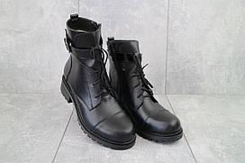 Жіночі черевики Sonata Boni чорні (натуральна шкіра, зима) р. 38 39