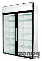 Холодильный шкаф-витрина со стеклянной дверью ШХ-1.4 ДС купе Polair (Полаир)