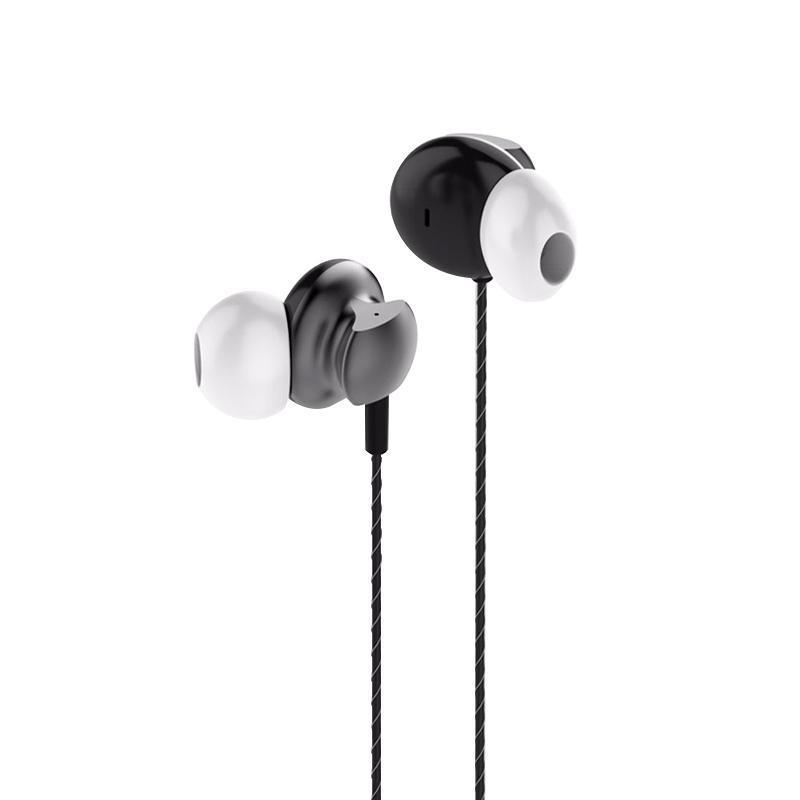 Навушники з мікрофоном Golf M9 сірого кольору