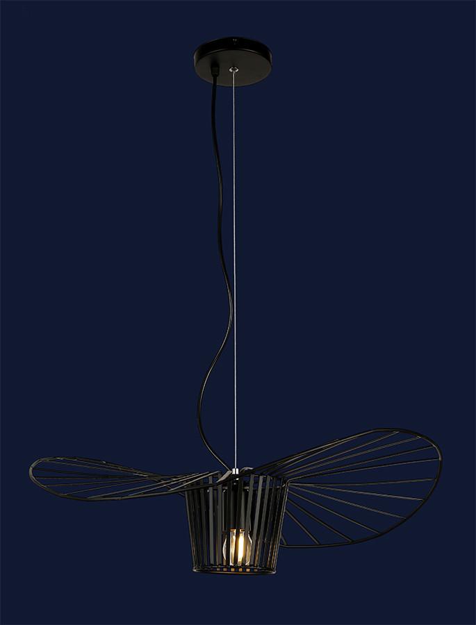 Необычный подвесной светильник 756PRD600-1 BK