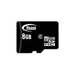Карта памяти microSDHC 8Gb Team (Class 4)