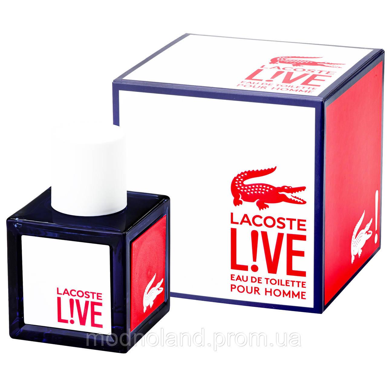 Мужская туалетная вода Lacoste Live 100 ml (Лакост Лайв) -
