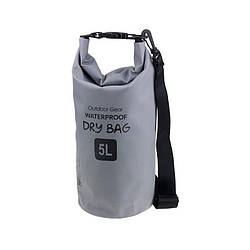 Waterproof Bag 5L Grey