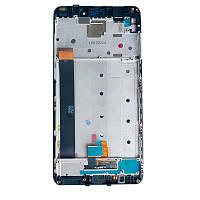 Дисплейный модуль (LCD + touch) Xiaomi Redmi Note 4 + рамка черный original