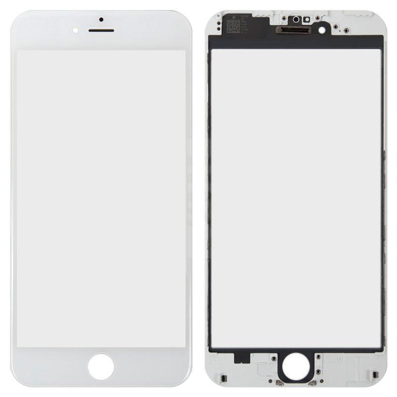 Скло + Рамка + Oca + Polarizing iPhone 6 Plus White
