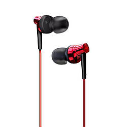 HF Remax (OR) RM-575 Pro Red (volume control + mic + button call answering)