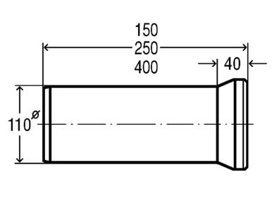 Колено прямое 100*150 (103668), фото 2