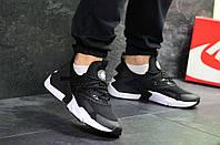 Кроссовки мужские черные с белым Nike Air Huarache 7107