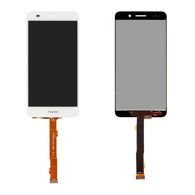 Дисплей и сенсор (модуль) на Huawei Y6 II белый