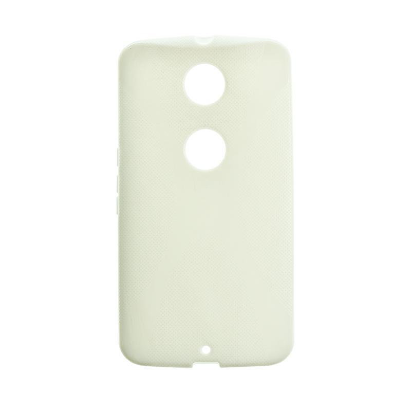 Original Silicon Case Motorola Moto E4 Plus White