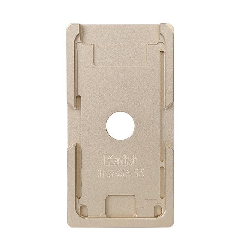 Форма металлическая для установки стекла с рамкой iPhone 6/6S Plus