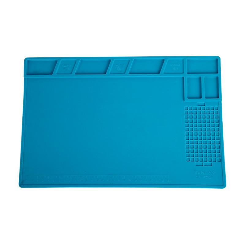 Антистатический настольный коврик для пайки плат Kaisi 802 (378*248мм)