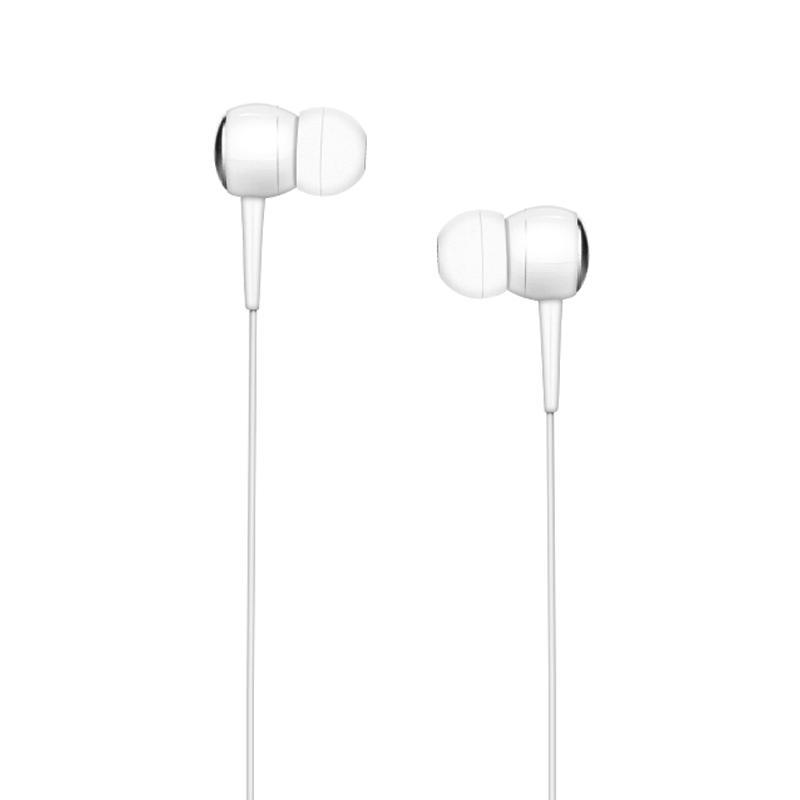 Навушники Hoco M19 білого кольору з мікрофоном